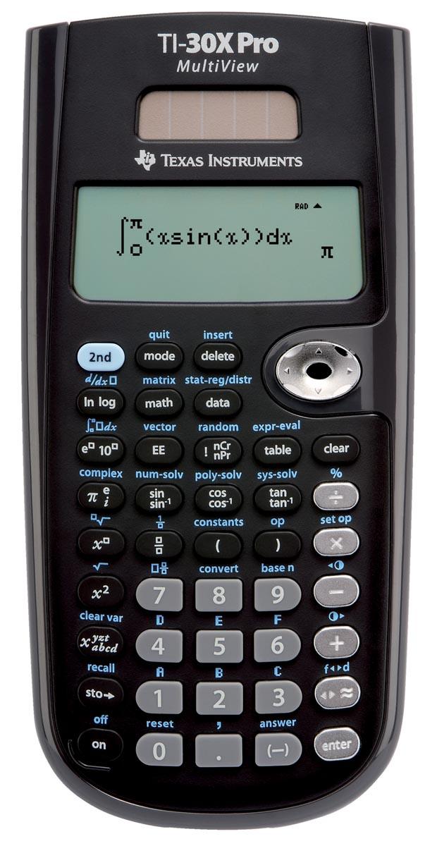 combinatie grafische rekenmachine